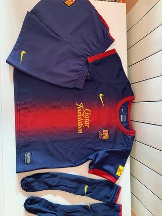 Equipación Barça FCB