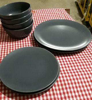 Platos y boles de ceramica