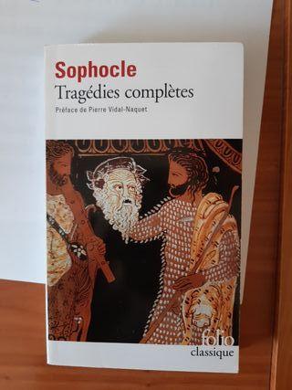 """Livre """"Tragédies complètes"""" (Sophocle)"""