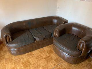 Sofa y 2sillones vintage
