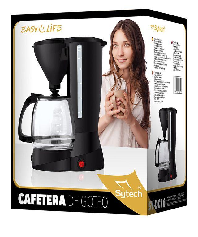 CAFETERA DE GOTEO, 10-12 TAZAS, 1,5 LITROS, 800W
