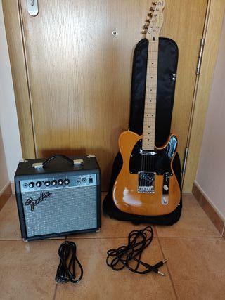 Guitarra eléctrica + amplificador Nuevos