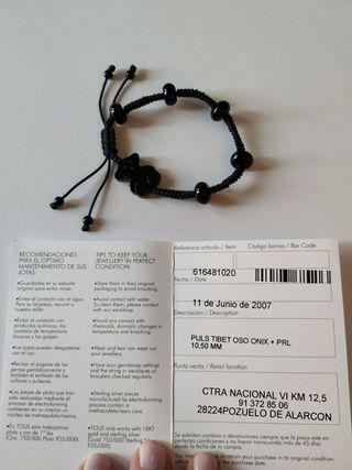 Pulsera TIBET Onix negro TOUS ORIGINAL