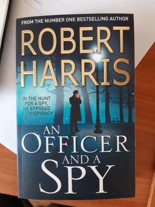 """Book """"An Officer and a Spy"""" (Robert Harris)"""
