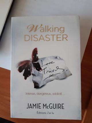 """Livre """"Walking Disaster"""" (Jamie McGuire)"""