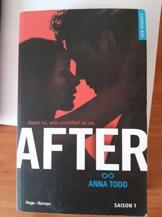"""Livre """"After"""" (Anna Todd)"""