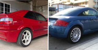 Vendo en Pack AUDI TT 225cv + VW Corrado Turbo.