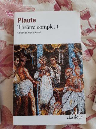 """Livre """"Théâtre complet I"""" (Plaute)"""