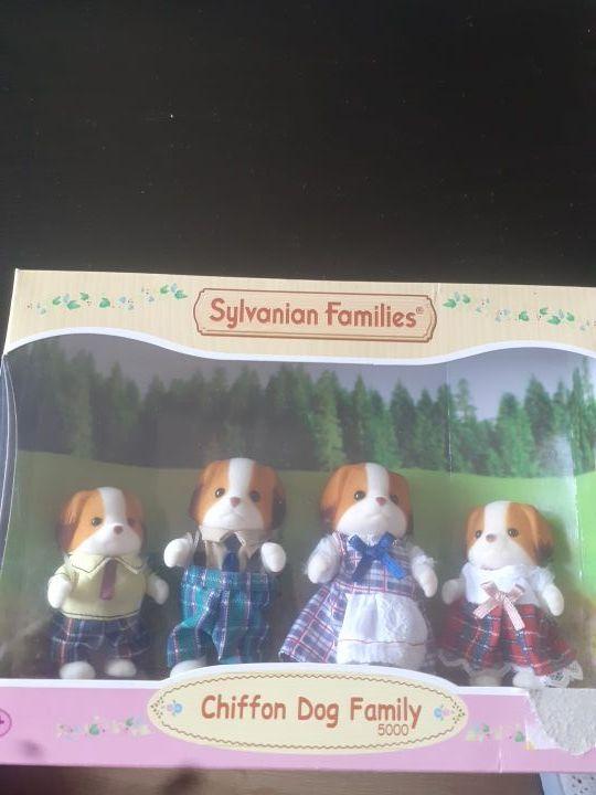 chiffon dog family 5000