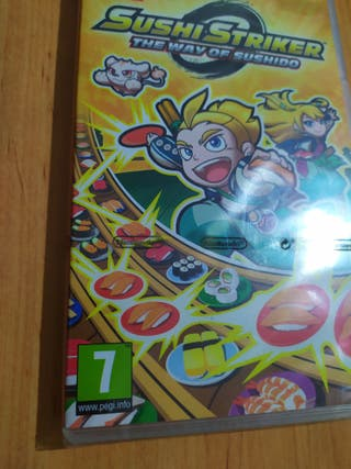 Sushi Striker Switch PRECINTADO (gratis envío)