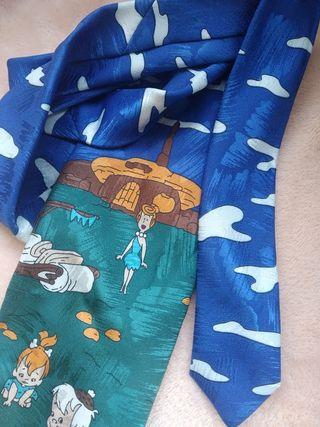 Corbata Vintage de Los Picapiedra
