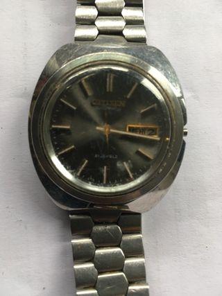 Reloj de pulsera Citizen años 80