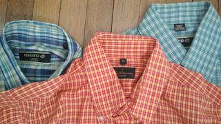 2 camisas Merc y 1 Camisa Ben Sherman tallas M