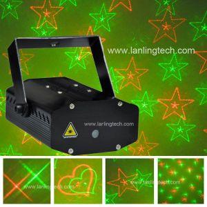 Mini Proyector de laser rojo y verde
