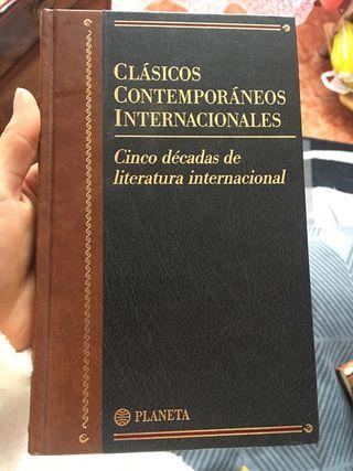 """Cinco décadas de literatura internacional"""