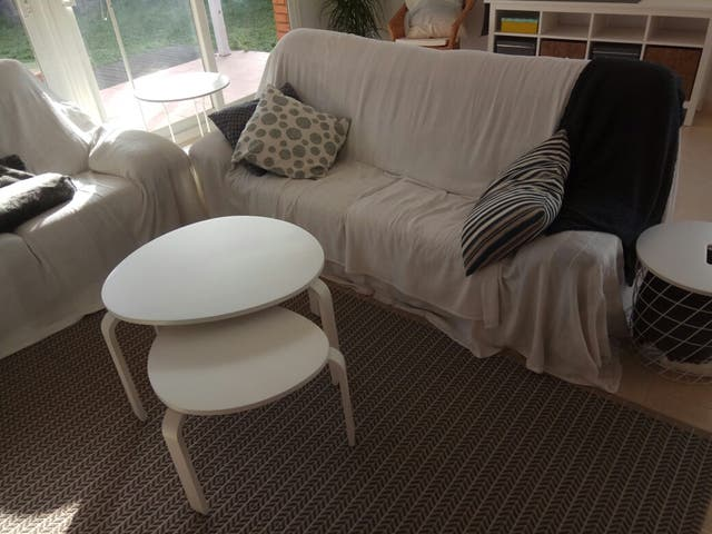 Mesa centro/nido SVALSTA Ikea