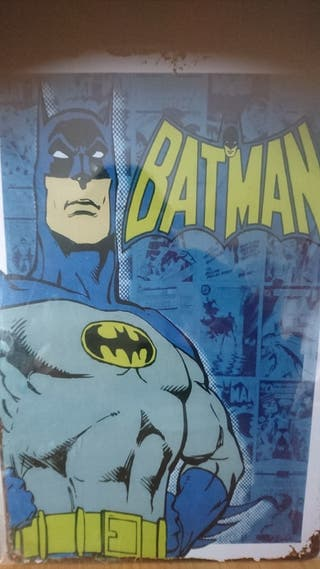Cartel metálico decorativo Batman