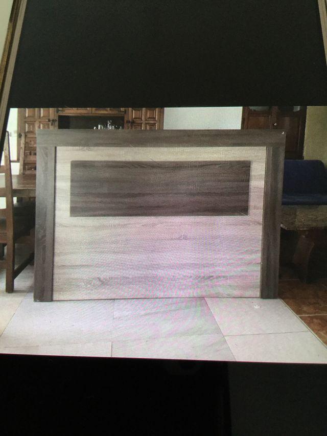 Oferta Cabezal en madera