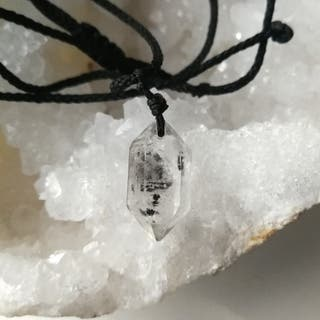 Colgante Cuarzo diamante Herkimer