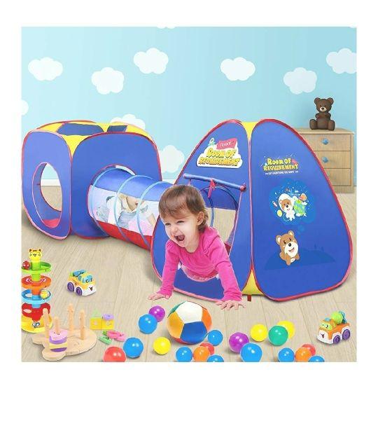 tienda con túnel juego bebe infantil