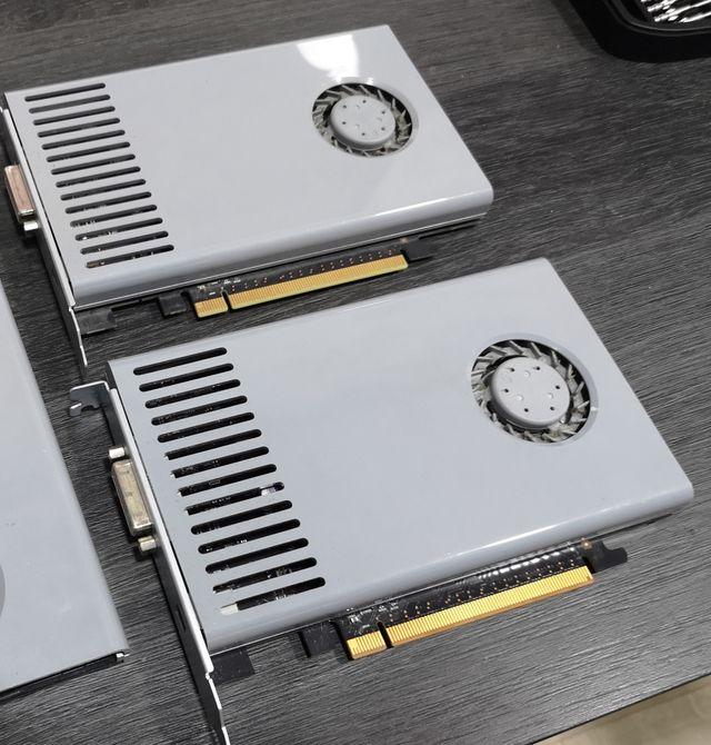 2 tarjetas gráficas Gt120 mac pro