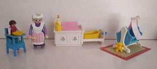 Playmobil 5313 habitación victoriana de bebé
