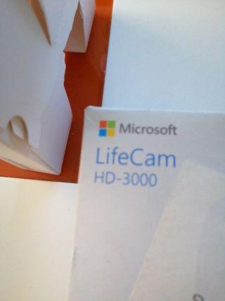 cámara HD 3000 Life Cam.