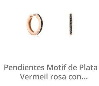 TOUS Pendientes catálogo 2019 criolla plata 1 ley