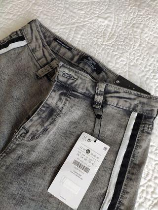 Pantalón talla 36 Bershka buenos con etiquetas
