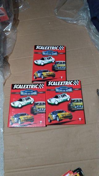 Colección Rallyes De España Scalextric