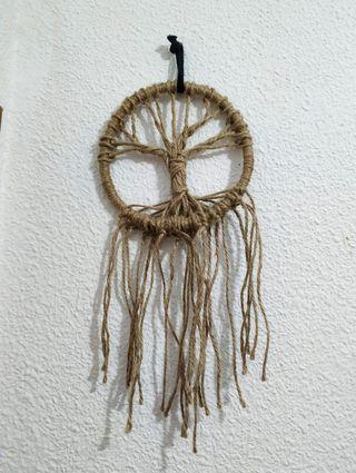 atrapasueños árbol hecho a mano artesanal boho