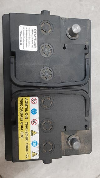 bateria para hyundai i20 70 ah