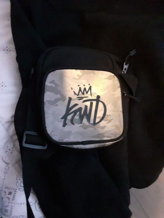 KWD jacket and bag