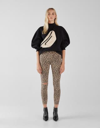 Pantalón animal print leopardo