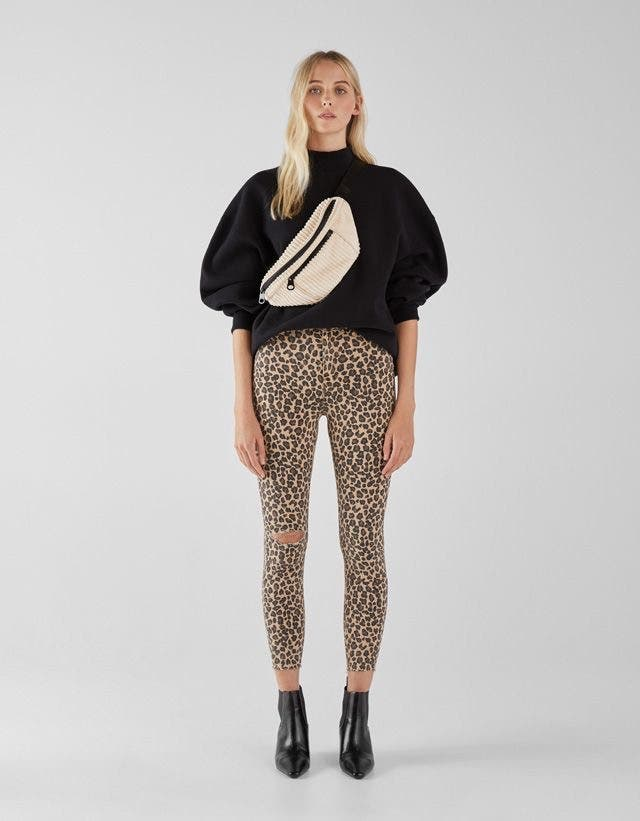 Pantalón animal print leopardo
