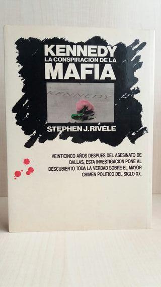 Libro Kennedy, la conspiración de la mafia.