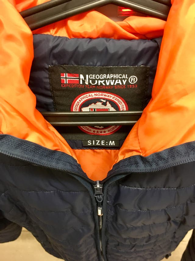 Chaqueta Geographical Norway