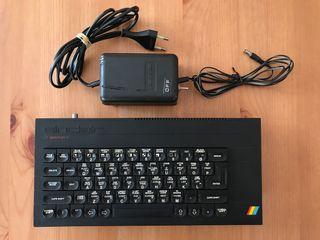 Sinclair ZX Spectrum+ 48K con vídeo compuesto