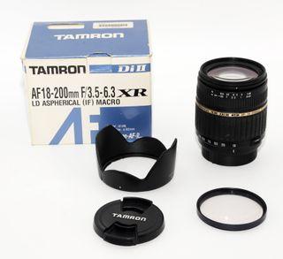 OBJETIVO Tamron Di II AF 18-200mm F3.5-6.3 (NIKON)