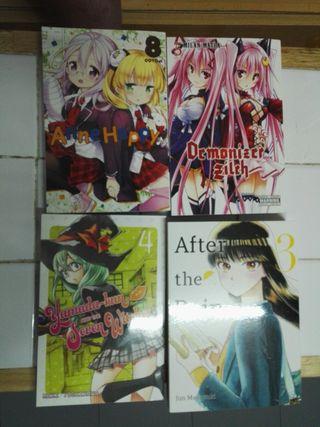 Libros 4 anime nuevos en inglés liquidación
