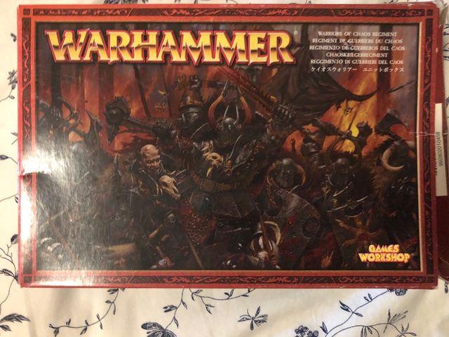 Warhammer Guerreros del Caos