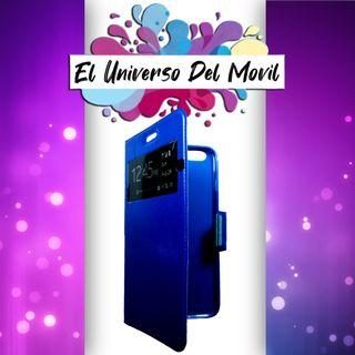 Funda Libro Color - Iphone 6 S Plus Azul