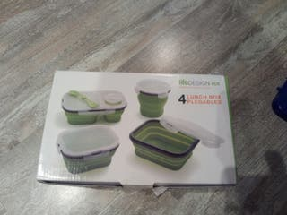 Life design eco 4 Lunch Box plegables