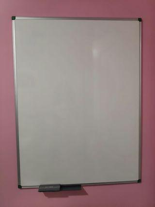 Pizarra blanca 120x90 no magnética