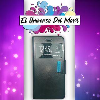 Funda Libro Color - Iphone 6 S Plus Negro