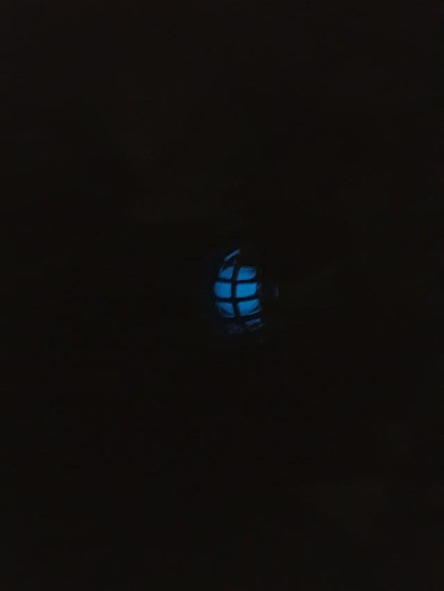 Colgante que brilla en la oscuridad - Caballito