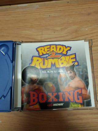 juego ready to the tambor dreamcast