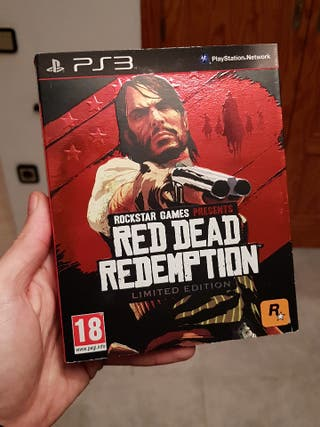 red dead redemption 1 ps3 especial