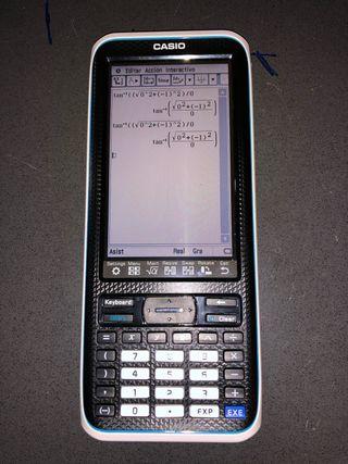 Calculadora CASIO FX CP400