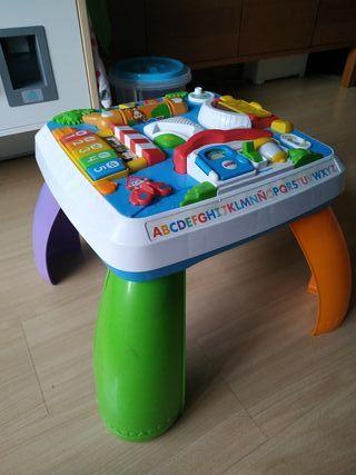 mesa Fisher Price, actividades bebé